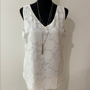 Chico's reversible lace top